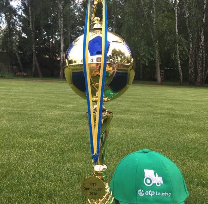 Футбольна команда ОТП Лізинг зайняла перше місце на чемпіонаті OTP Spring Cup 2018